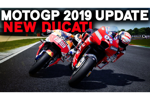MOTOGP 2019 GAME MOD UPDATED! | DUCATI 2019 LIVERY ADDED ...