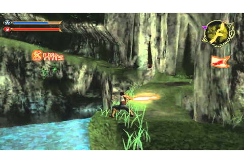 Dragon Blade: Wrath of Fire Game Sample - Wii - YouTube