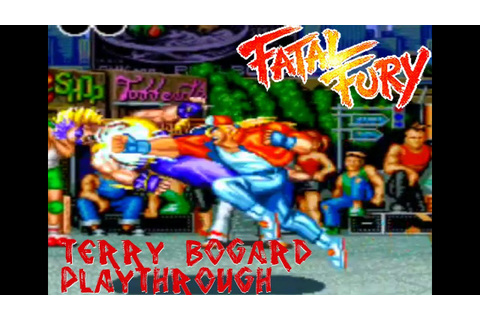 Fatal Fury: King Of Fighters (Arcade) - Terry Bogard's ...