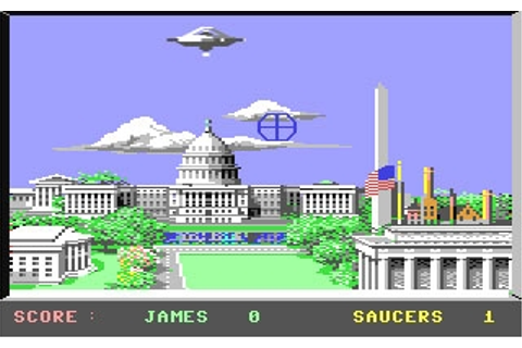 Saucer Attack! - Commodore 64 (C64) rom download | WoWroms ...