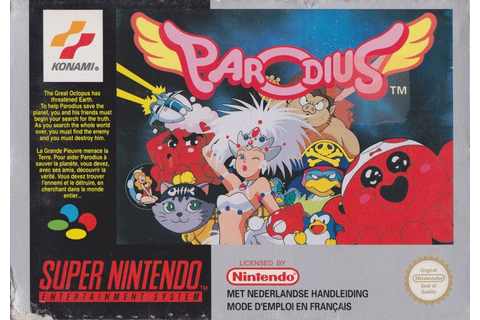 Parodius for SNES (1992) - MobyGames