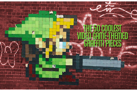 The 50 Coolest Video Game-Themed Graffiti Pieces | Complex