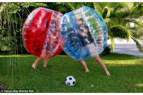 Bubble ball soccer offers hilarious twist from Europe on ...