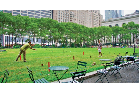 Bryant Park Blog: The Games of Bryant Park