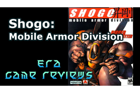 Era Game Reviews - Shogo: Mobile Armor Division PC Game ...