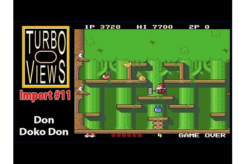 """Don Doko Don"" - Turbo Views Import #11 (PC-Engine game ..."
