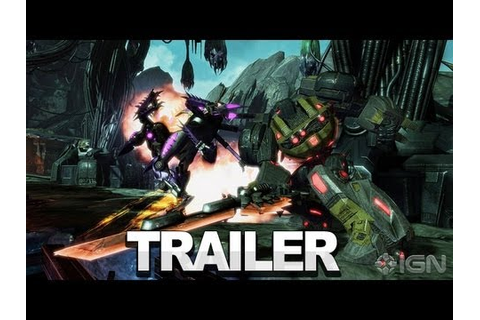 Transformers: Fall of Cybertron Gameplay - The First ...