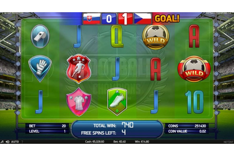 Football Champions Cup - Full slot review - Cyber Casino Index