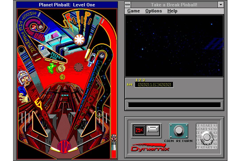 Take a Break! Pinball (Dynamix) (Windows 3.x) [1993] [PC ...