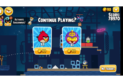 Game Over: Angry Birds Seasons (Android) (Invasion of the ...