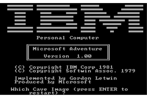 Microsoft Adventure Download (1981 Adventure Game)