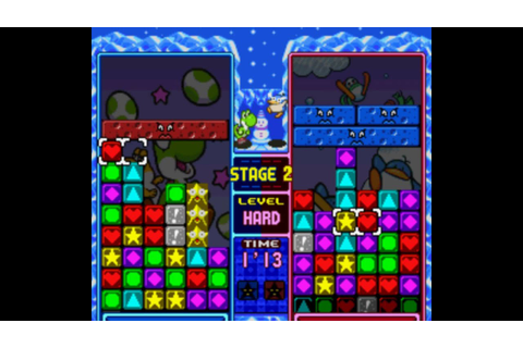 Tetris Attack - 1P Vs. Mode Stages 1-4 - YouTube