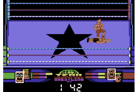 American Tag Team Wrestling (1992) C64 game