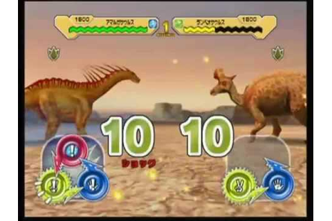 Dinosaur King Arcade Game - Combat With Water Dinosaurs ...