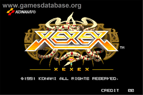 Xexex - Arcade - Games Database