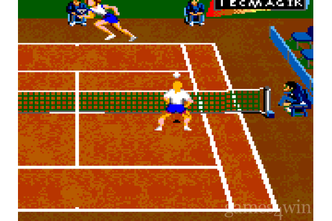 Andre Agassi Tennis Free Download full game for PC, review ...