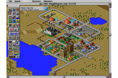 Play SimCity 2000 online - PlayDOSGames.com