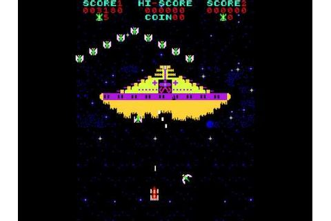 Arcade Game: Phoenix (1980 Amstar) - YouTube