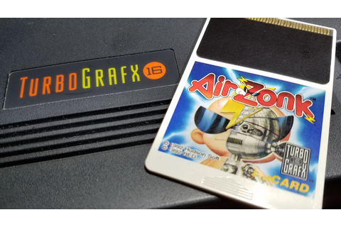 Classic Game Room - AIR ZONK review for Turbografx-16 ...