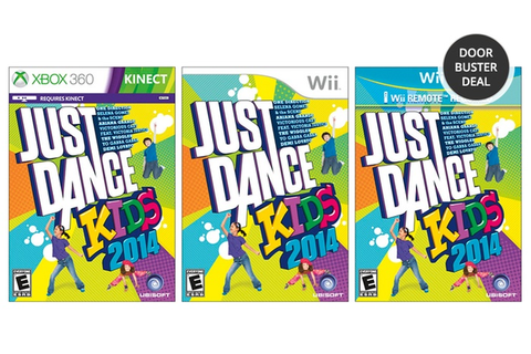 Just Dance Kids 2014 for Xbox 360 Kinect, Wii, or Wii U ...