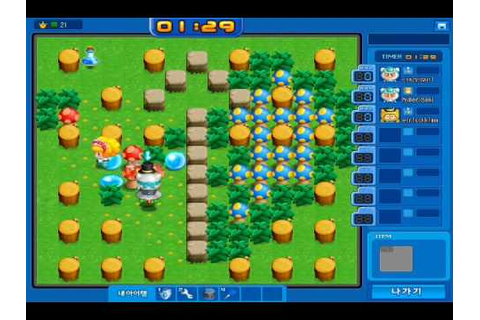 A Cool Korean game thats just like BomberMan. - YouTube