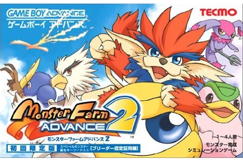 Monster Rancher Advance 2 (2002) by Tecmo GBA game