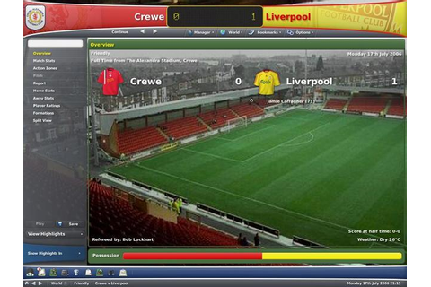 Football Manager 2007 Free Full Game Download - Free PC ...