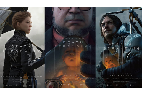 Death Stranding Trailer #1-4 | A Hideo Kojima Game - YouTube