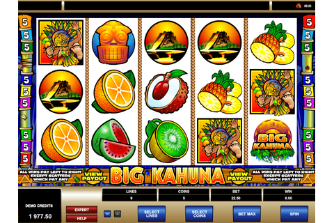 Big Kahuna ™ Slot Machine - Play Free Online Game - Slotu.com