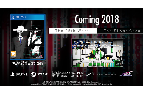The 25th Ward: The Silver Case - Nuovo video gameplay ...