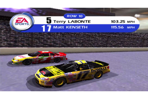 Nascar 2001 - Gameplay - Part 1 - English - PS2 - YouTube