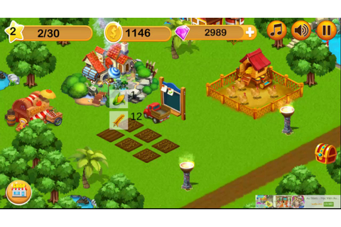 GAME BABY HOT: My Happy Farm Daily - YouTube