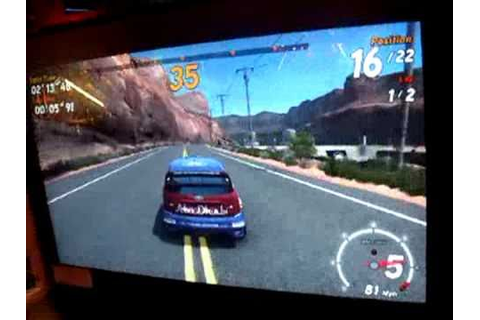 Sega Rally 3 (Arcade) - YouTube