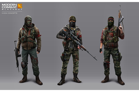The Art of MODERN COMBAT 5 : BLACKOUT on Behance