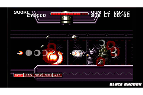 Night Slave (NEC PC-98) Walkthrough Stage 3 + Bonus Stage ...