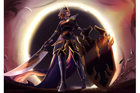 [Riot 2017 Art Contest] Solar Eclipse Leona [Submited ...