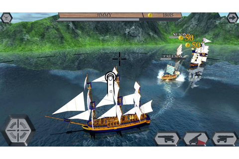 World Of Pirate Ships game play - YouTube