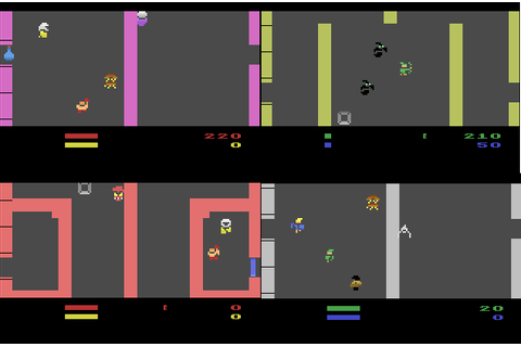 Gauntlet arcade game ported to Atari VCS / Boing Boing