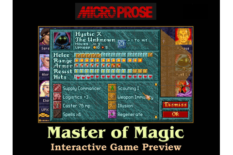 Master of Magic | Fun Screen Puzzle