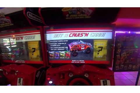First footage - Cruis'n Blast (Prototype) Arcade Game By ...