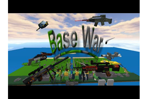 Roblox base wars BW-SHOTGUN PT 2 - YouTube
