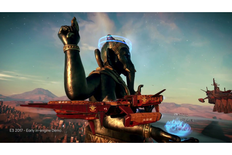 BEYOND GOOD AND EVIL 2 Gameplay Demo E3 2017 In Engine1 ...