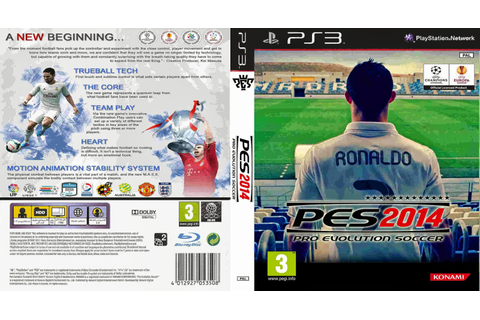 Pro Evolution Soccer 2014 - Capa Game PS3