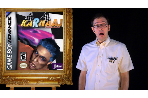 AVGN Bad Game Cover Art #17 – Karnaaj Rally | Cinemassacre ...