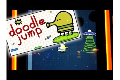 Doodle Jump Game - Arcade Version | - YouTube
