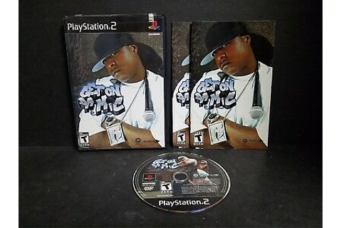 Get On Da Mic (Sony PlayStation 2, 2004) PS2 Complete ...