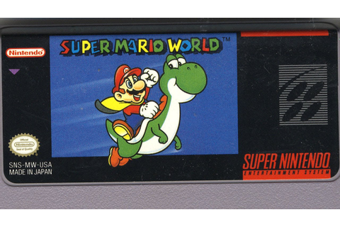 Classic Game Room - SUPER MARIO WORLD review for SNES ...