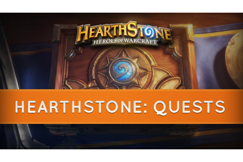 Hearthstone: Quests - YouTube