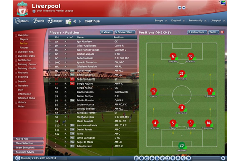 fxgatramaheswara: Free download Football Manager 2011 game ...