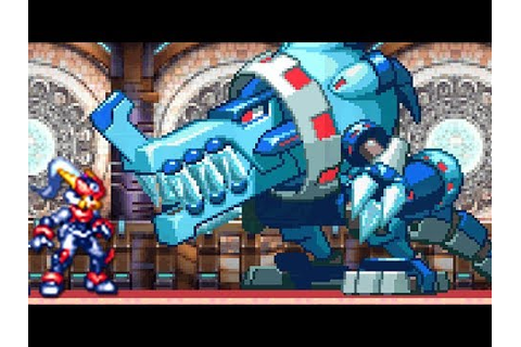 Mega Man ZX Advent (DS) All Bosses (No Damage) - YouTube